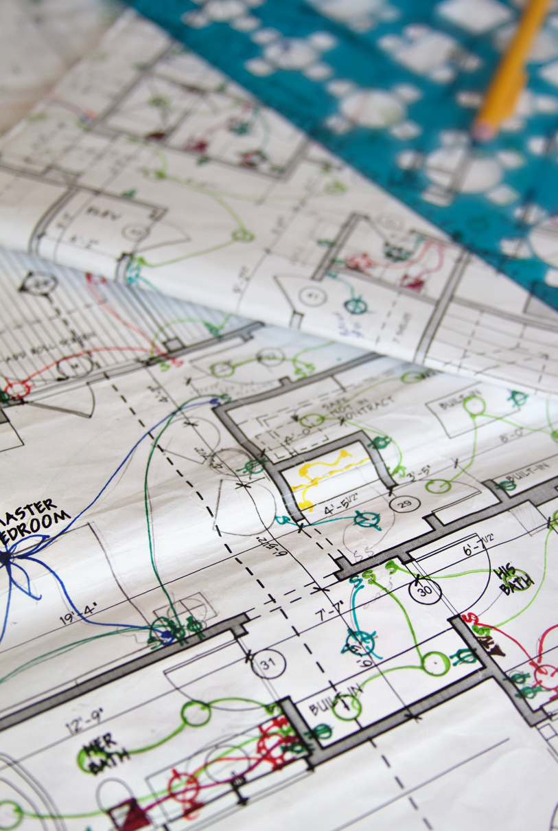 Space and Electrical Planning | The Great Room Design